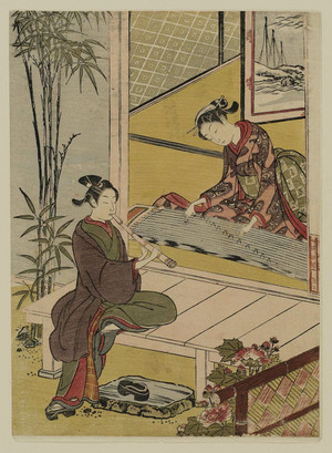 Couple_playing_a_duet_on_koto_and_s